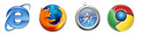Internet Explorer, Firefox, Safari, and Chrome Compatibility